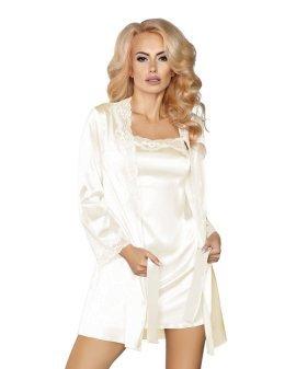 """Baltas chalato ir naktinukų rinkinys """"Jacqueline"""" - Livia Corsetti"""