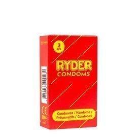 """Prezervatyvai """"Ryder Condoms"""", 3 vnt. - Ryder"""