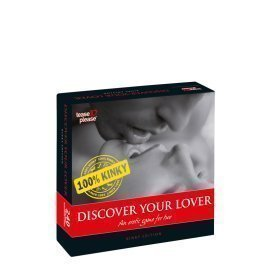 "Erotinis žaidimas poroms ""Discover Your Lover 100% Kinky"" - Tease and Please"