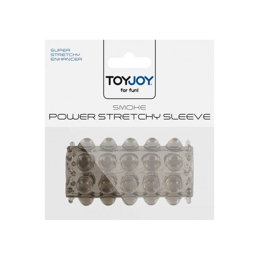 "Pilka penio mova ""Smoke Power Stretchy Sleeve"" - ToyJoy"