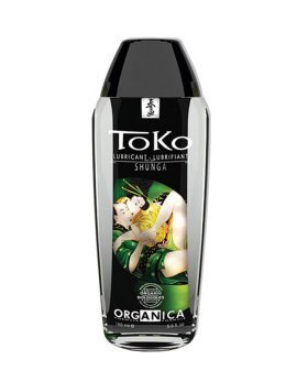"Ekologiškas vandens pagrindo lubrikantas ""Toko Organica"", 165 ml - Shunga"