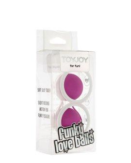 "Violetiniai kamuoliukai ""Funky Love Balls"" - ToyJoy"