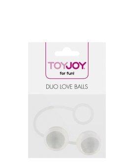 "Kamuoliukai ""Duo Love Balls"" - ToyJoy"