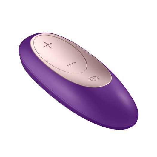 "Vibratorius poroms ""Double Plus Remote"" - Satisfyer"