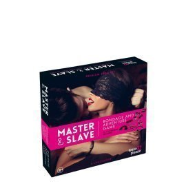 "Erotinis žaidimas ""Master&Slave Bondage Game Pink"" - Tease and Please"