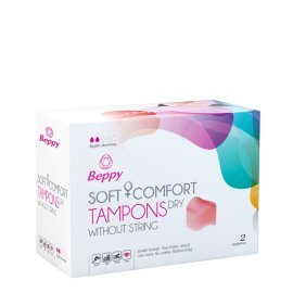 "Tamponai ""Soft Comfort Dry"", 2 vnt. - Beppy"