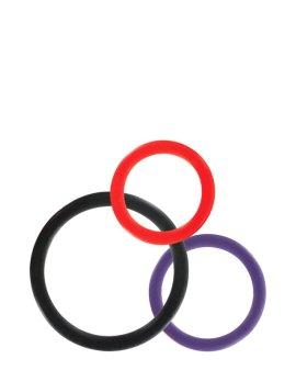 """Žiedų rinkinys """"Triple C-ring Set"""" - ToyJoy"""