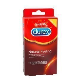 "Prezervatyvai be latekso ""Natural Feeling"", 10 vnt. - Durex"