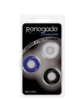 """Penio žiedų rinkinys """"Stamina Rings"""" - Renegade"""
