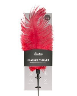 "Raudonas plunksnos botagas ""Feather Tickler"" - EasyToys"
