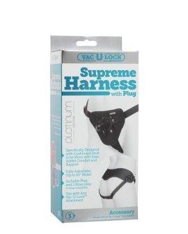 """Diržas strap-on seksui (pažeista pakuotė) """"Supreme Harness"""" - Doc Johnson"""