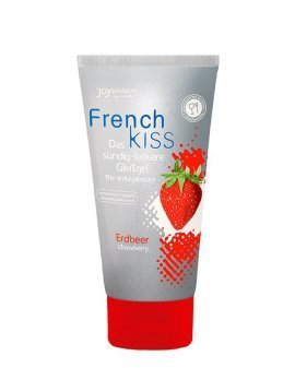 "Vandens pagrindo lubrikantas ""Frenchkiss Strawberry"", 75 ml - Joy Division"