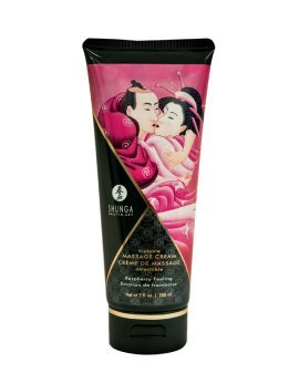 "Masažo kremas ""Raspberry Feeling"", 200 ml - Shunga"