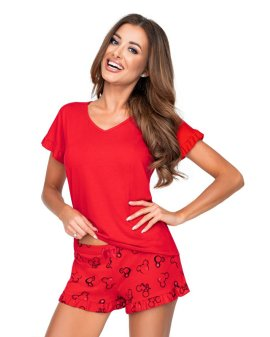 "Raudona pižama ""Mika"" - Donna"