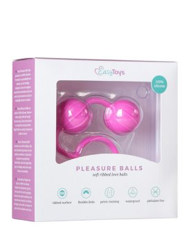 "Vaginaliniai kamuoliukai ""Pleasure Balls"" - EasyToys"