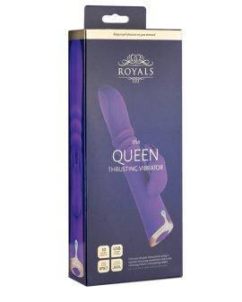 """Automatinis vibratorius kiškutis """"The Queen"""" - Royals"""