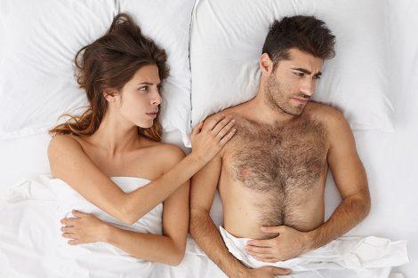 3 didžiausios intymios problemos sekso metu