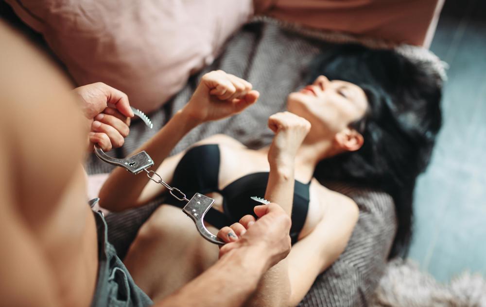 Rinkiniai erotiškiems suvaržymo žaidimams